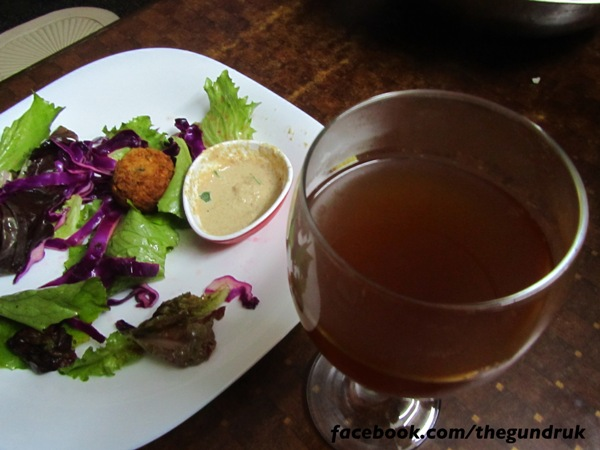 The nepali food blog falafel with for Spiced cranberry sauce with orange and star anise